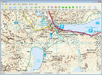 wales 25K explorer OS maps mapping software