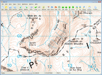 50K Landranger OS mapping software