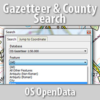 FREE OS Gazetteer & County Search