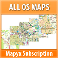 Mapyx Subscription - OS LEISURE MAPS Annual
