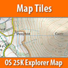 QUO2 - MAPS - OS 25K Explorer Tiles